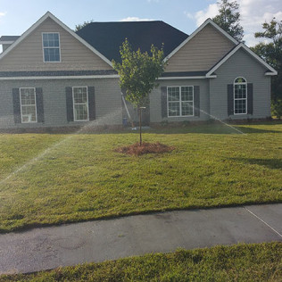 Lawn Irrigation System Repair and Sod Installation<br/>Statesboro, GA